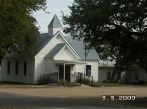 Driftwood church